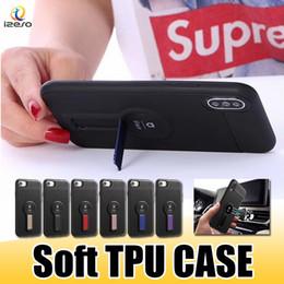 IFace Yumuşak TPU Cep Telefonu Kılıfı Manyetik Sürüş Araç Telefonu Tutucu Kickstand Arka Kapak Kabuk için Huawei P30 PRO P Akıllı 2019 Redmi Y3 nereden