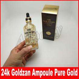 Wholesale 24 Bulb - Skinature 24k Goldzan Ampoule 24 K Face Cream Skin Enhancing Essence Oils Primer Face Skin Care