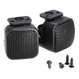 Wholesale tweeter speakers car audio - Super Power Loud Audio square design Speaker Tweeter for Car Auto a pair Free Shipping