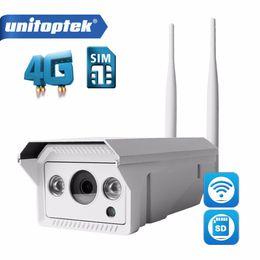 Wholesale 3g Sim Slot - 1080P 720P 3G 4G SIM Card Camera WIFI Outdoor HD Bullet Camera Wireless Night Vision IR 20M TF Card Slot APP CamHi