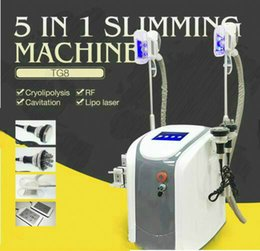 Wholesale fat slim machine - Factory Price !!! Zeltiq Cryolipolysis Fat Freezing Slimming Machine Coolsculpting Cryotherapy Ultrasound RF Liposuction Lipo Laser Machine