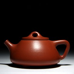 Wholesale Chinese Tea Gift Boxes - chinese superme yi xing zisha teapot of handmade good gift for friends of ceramic material china tea set with the best gift box