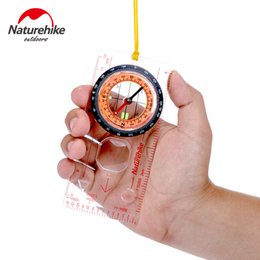 Wholesale cross maps - Naturehike Camping Directional for Cross-country Race Hiking Special for Compass Baseplate Ruler Map Scale Compass