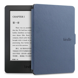 Wholesale Paperwhite Cases - For Amazon Kindle Paperwhite 1 2 3 Ultra Slim Leather Case Cover Tablet 6 inch eReader Shell Case With Sleep WakeUp Function