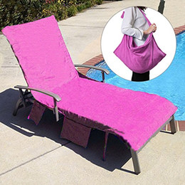 Cool Microfiber Beach Chair Cover Pool Lounge Chair Cover Blankets Portable With Strap Beach Towels Double Layer Thick Blanket 650G 75 210Cm Camellatalisay Diy Chair Ideas Camellatalisaycom