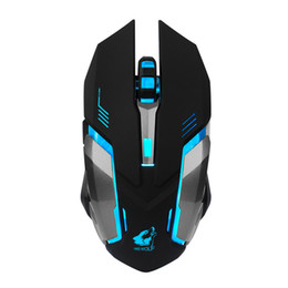 Wholesale X7 Gaming Mouse - High Quality Rechargeable X7 Wireless Mouse New USB LED Backlit Silent Mouse Optical Ergonomic Gaming