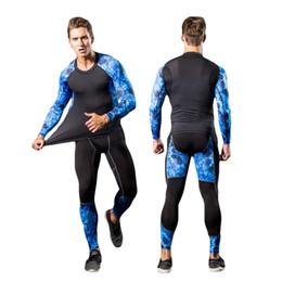 2017 Hommes Pro GYM Fitness Compression Ensembles Rapide Sec Legging + Top Workout Train Exercice Sport Yoga Pantalon + Chemise Exécuter Yoga Vêtements ? partir de fabricateur