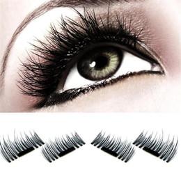 Wholesale Hair Extensions Dhl Free - HOTTEST Magnetic Eye Lashes 3D Reusable False Magnet Eyelashes Extension 3d eyelash extensions magnetic eyelashes makeup DHL free ship