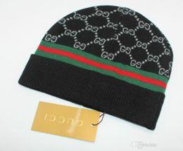 2018 Automne Hiver Chapeaux Pour Femmes Hommes luxe Marque Designer De Mode Bonnets Skullies Chapeu Caps Coton Gorros Touca De Inverno Macka casquette ? partir de fabricateur