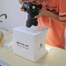 Mini Falten Studio Diffuse Soft Box mit LED-Licht Schwarz Weiß Hintergrund Foto Studio Zubehör Foto Studio Box von Fabrikanten