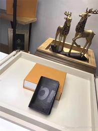 Deutschland Authentische rot schwarz EPI BiFold schlanke Geldbörse Burse Notecase Tasche Männer Frauen beste Qualität mit Original Box 2018 beliebt mit Staubbeutel Versorgung