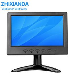 Wholesale Vga Systems - 7 inch support Linux system small vga lcd monitor 9.7-inch 1024*768 desktop game home screen monitors HDMI BNC VGA AV USB interface