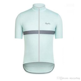 b652ea66f 2018 Rapha Cycling Jersey Short Sleeves Summer mtb bike Shirts Cycling  Clothes sports Wear Comfortable Hot New bicycle tops F2750