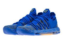2019 chaussures finales 2018 chaud KD 10 finales MVP Basketball chaussures magasin avec boîte Kevin Durant Fmvp chaussures livraison gratuite us7-us12 chaussures finales pas cher