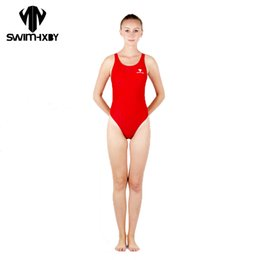 4xl swimsuit for women Coupons - HXBY Sharkskin Professional Children Swimsuit For Girls Swimwear Women One Piece Swim Wear Women Swimming Suit Womens Swimsuits