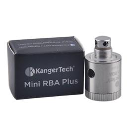 2019 kanger subtank spule für rba 5 stücke Original Kangertech Mini RBA Plus Spule kanger Mini RBA Deck für Subtank Subtank Plus Eletronic Zigarette kit spule günstig kanger subtank spule für rba