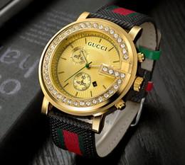 Wholesale Womens Gold Bracelet - relogio masculino womens watches Luxury dress designer fashion Black Dial Calendar gold Bracelet Clasp Master Women 2018 gifts couples