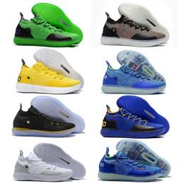 new concept 77536 d367e Designer Schuhe Zoom KD EP 11 2019 Männer Basketball Schuhe KDs XI Kevin  Durant Outdoor Sports Fmvp Kampfstiefel Turnschuhe Größe US 7-12 rabatt  kevin ...
