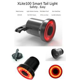Dh accessoires en Ligne-bike lamps seatpost DH-100 battery 38G mtb lights Bicycle taillight Waterproof bike lamp usb laser velo accessories lamps