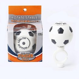 Wholesale magnetic gyro - Magnetic Football Gyroscope Series 2018 FIFA Russia World Cup Fidget Spinner Rotate Stable Finger Soccer Fingertip Gyro Toys 4jh W