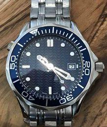 Temporizador de calidad online-007 Reloj de hombre de edición limitada con esfera negra, temporizador profesional, reloj automático de acero inoxidable 43 mm. Calidad de primera clase, el precio más bajo.