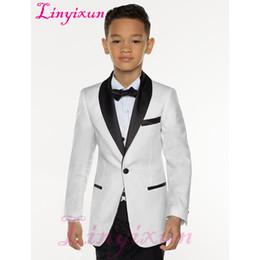 2e695d064cf Al por mayor trajes de vestir blancos para los niños en venta - Linyixun  White Boy