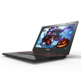 Wholesale notebook amd - ENZ X36 15.6 inch Laptop Gaming Notebook Computer I7-6700HQ AMD RX560 1920*1080 IPS Backlit Keyboard 16G RAM+32GB SSD+320GB HDD
