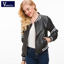 Schlussverkauf 2019 Neue Mode Frauen Frühling Herbst Faux Glatte Leder Jacken Dame Weiß Schwarz Slim Fit Pu Zipper Motorrad Streetwear Mäntel Haus & Garten