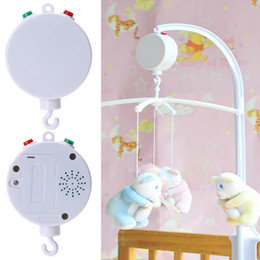 Wholesale Music Box Movement - Baby Kids Toys 35 Song Rotary Baby Mobile Crib Bed Toys Clockwork Movement Music Box Newborn Bell Crib Learning Gift
