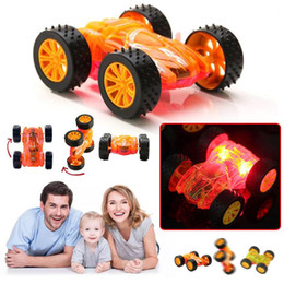 Wholesale toy tracks for cars - Flashing Light Toy Car Boys Birthday Gift LED Light Up Cars For Glow Tracks Electronics Toys