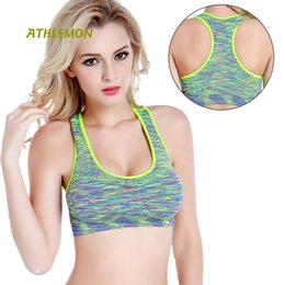 53505a6149 Fitness Bra Top Women Sport Running Shockproof Workout Underwear Wirefree  Padded Yoga Bras Plus Size Womens Athletic Clothing