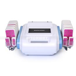 Lipo laser 16 pastiglie online-Liposuzione 160mw 16 cuscinetti a diodi Lipo Laser bruciare i grassi cellulite corpo che dimagrisce macchina