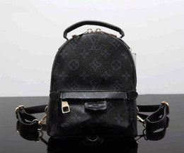 Wholesale High Quality Leather Man Bag - Fashion Luxury Brand PU Leather Backpack Style High Quality New Arrival Designer Backpack Letter Bags Fashion Women Men School Bags