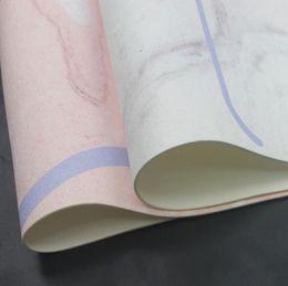 Stuoia di yoga microfiber online-Tappetino per yoga antibatterico permanente antiscivolo Tappetino per yoga leggero in microfibra di alta qualità in tessuto scamosciato non tessuto