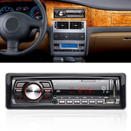 Wholesale Car Dvd Player Remote - New 12 V Car MP3 Radio Audio Player Stereo MP3 CD DVD FM Transmitter Support FM USB   SD Card Radio With Remote