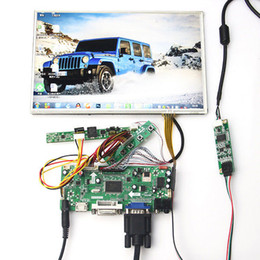 Панель vga lcd онлайн-для 10,1-дюймовый b101uan02 1920 * 1200 + сенсорная панель + HDMI + VGA + DVI LCD плата контроллера