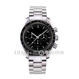 China AAA Reloj de lujo para hombres Reloj de cuarzo VK Master de alta calidad para hombres Cinturón de acero inoxidable para empresas Reloj cronógrafo desde fabricantes