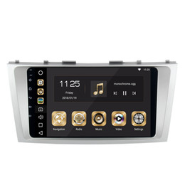 """Wholesale Toyota Car Stereo Gps - COIKA 9 """" Octa Core Android 8.0 System Car DVD Head Unit For Toyota Camry 2007-2011 With 4+32G RAM GPS Navi Stereo Multimedia OBD DVR WIFI"""