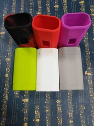 räuber fall Rabatt Wismec Predator 228W box mod silikon gehäuse beschützer hülle haut wickeln silikon fällen 10 farben DHL frei