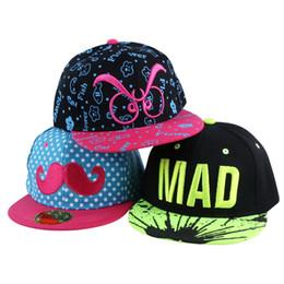 nuevas gorras de moda diseño personalizado niños hip hop snapback sombreros  carta simple belleza bebe gorra de béisbol niño niña linda casquette 2fbf35bcf34