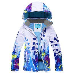 Wholesale Warm Waterproof Jacket Women - Wholesale- Winter Ski Jacket Women Snowboard Coat Snow Female Warm Outdoor Mountain Skiing Suit For Girls Waterproof Windproof
