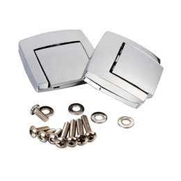 street glide chrome Promotion Moto Chrome Tour Pack Pack Loquets Pour Harley Touring Street Road Classique Electra Glide Ultra Rasoir FLHX FLTR 80-13