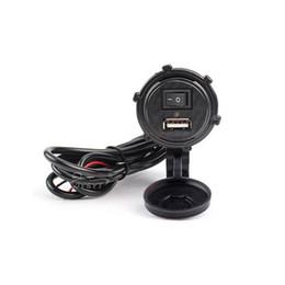 Wholesale Ktm Accessories - universal Motorcycle car charger USB12V waterproof dustproof recharging accessories general mobile charger HONDA SUZUKI KTM YAMAHA KAWASAKI