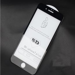 2019 iphone flim avant Film de protection d'écran en verre trempé avec couche de protection complète pour couverture courbe 5D 6D Complète colle pour IPHONE XS XR