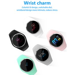 kids smart watch phone Coupons - Q1 Color Screen sensor Smart Watch Wristband Blood Pressure Heart Rate Monitor Fitness Tracker Men Women Smartwatch Bracelet free DHL