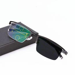 210f20d19 óculos progressivos Desconto Óculos de Leitura Photochromic Multifocal  progressivo Óculos Flexível Templo Pernas de Alta Qualidade
