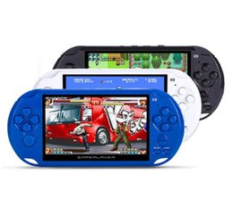 Wholesale mp4 free music - 8GB X9 Handheld Game Player 5 Inch Large Screen Portable Game Console MP4 Player with Camera TV Out TF Video for GBA NES Game free shipping