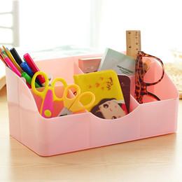 despeje de pinceles de maquillaje Rebajas Liquidación Candy color Cajas de almacenamiento organización hogar cepillos de maquillaje Contenedor corazón organizador de maquillaje caja de almacenamientoD5