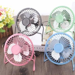 Wholesale portable high table - Aluminum leaf Quiet Mini Table Desk Personal Fan and Portable Metal Cooling Fan for Office Home High Compatibility
