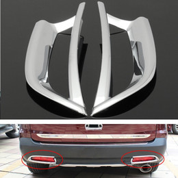 Wholesale Cover Rear Fog Light - Chrome Tail Rear Fog Light Trim Decoration Cover For Honda CRV 2012-2014